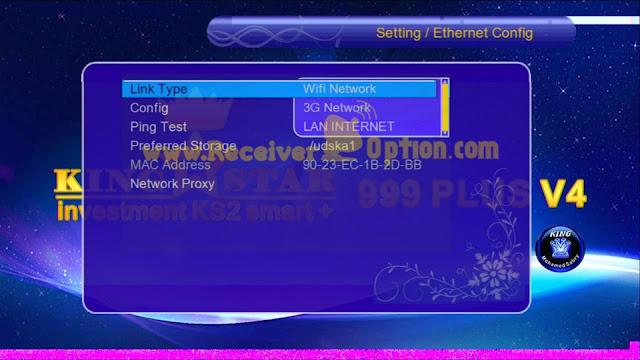KING STAR 999 PLUS V4 1507G 1G 8M NEW SOFTWARE WITH GO SAT PLUS V2 & G SHARE PLUS V2 OPTION 21 JUNE 2021