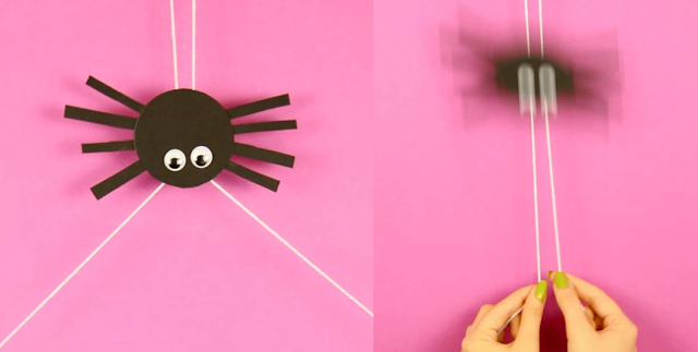 Lets Make Cute And Movable Spider Craft
