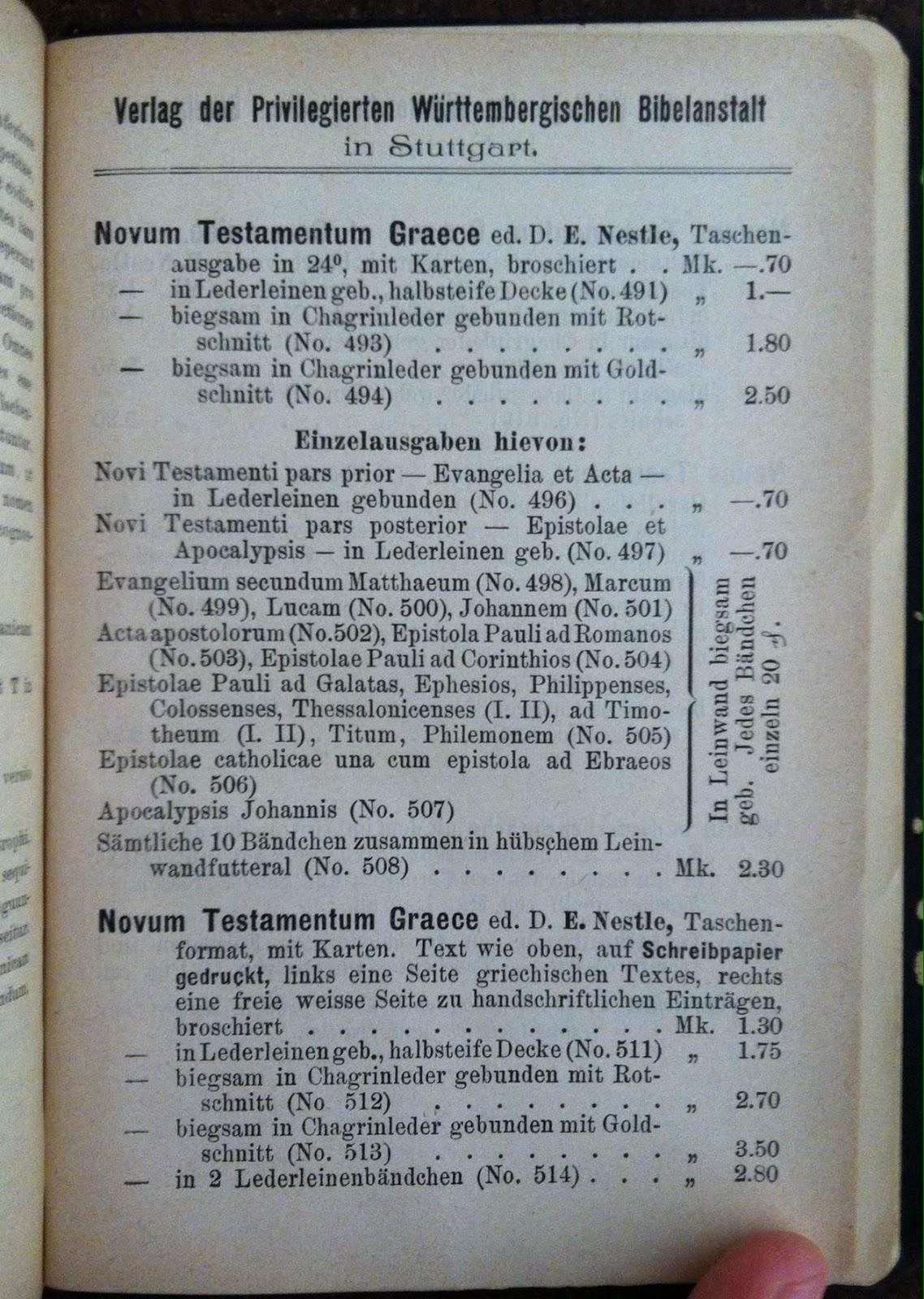 Novum testamentum graece et latine online dating