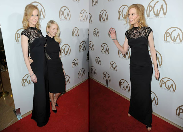 Nicole Kidman poses at The 24th Annual Producers Guild of America Awards