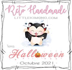 Reto Handmade, Halloween, Octubre
