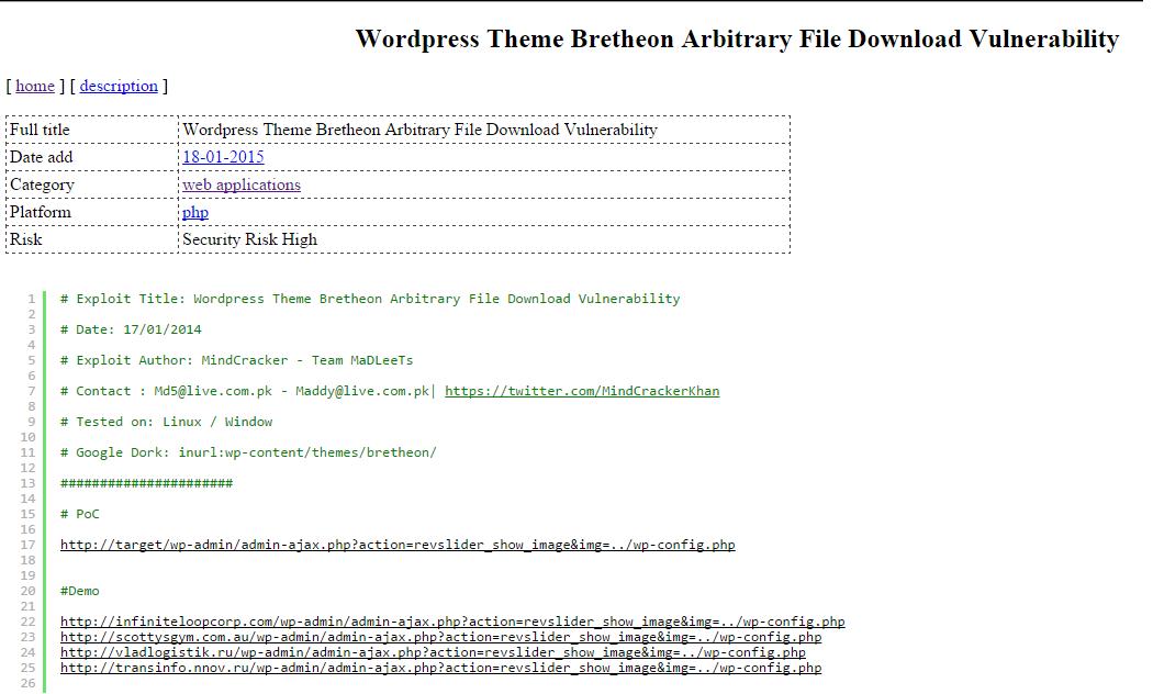 bretheon xml file