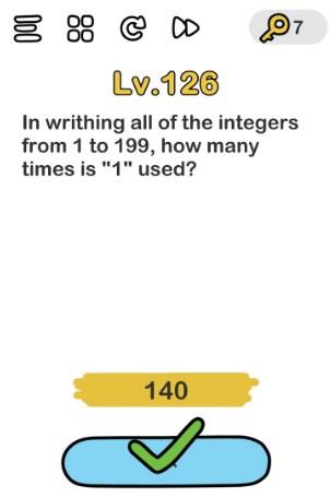 kunci jawaban brain out level 126