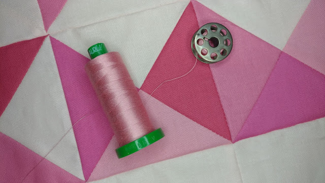 Aurifil 40wt for quilting on my longarm