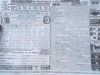 Pronostic quinté pmu Mercredi Paris-Turf-100 % 22/09/2021