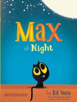 Review, Giveaway, Max At Night, Ed Vere, Bea's Book Nook