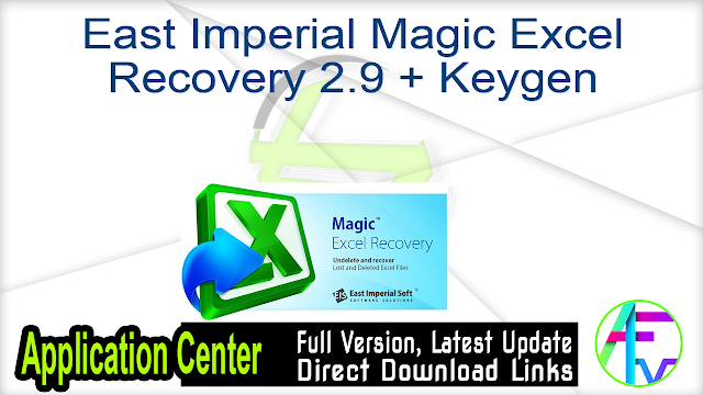 East Imperial Magic Excel Recovery 2.9 + Keygen