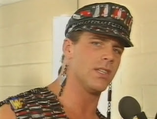 WWF / WWE IN YOUR HOUSE 10: Mind Games - Shawn Michaels admitted to being nervous in his pre-match promo