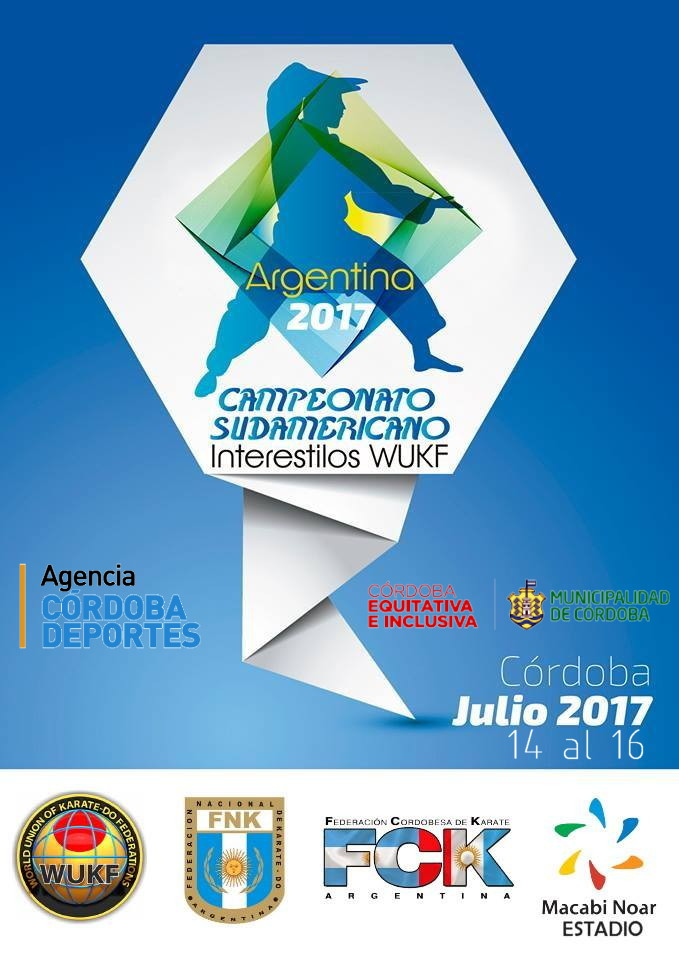 Campeonato Sudamericano Interestilos WUKF 2017
