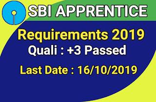 SBI Apprentice Recruitment 2019 : 700 Apprentice Posts