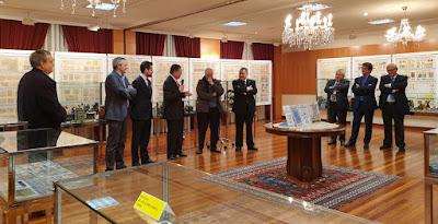 Inauguración de la exposición de Coleccionismo en el Centro Asturiano