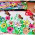 Kwiecista, letnia łąka - praca plastyczna