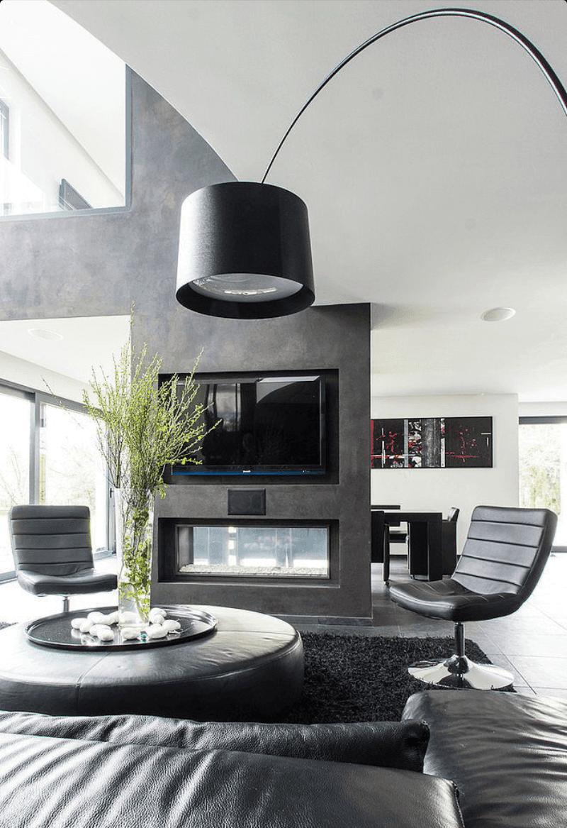Estilo moderno bom para ambientes pequenos e grandes for Estilo moderno interiores