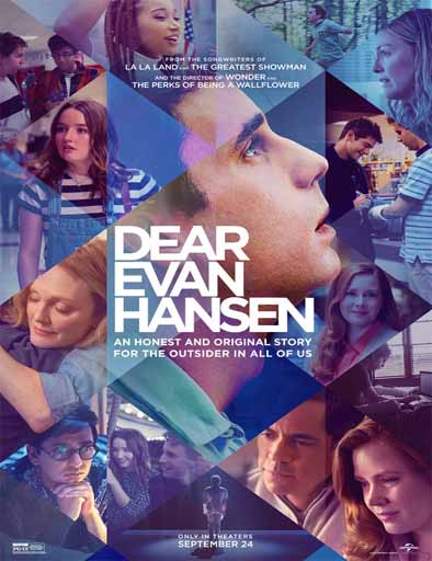 Pelicula Querido Evan Hansen