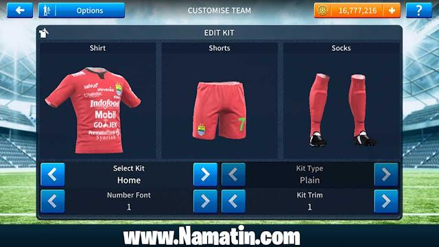 Kaos Dream League Soccer Persib 2019-2020
