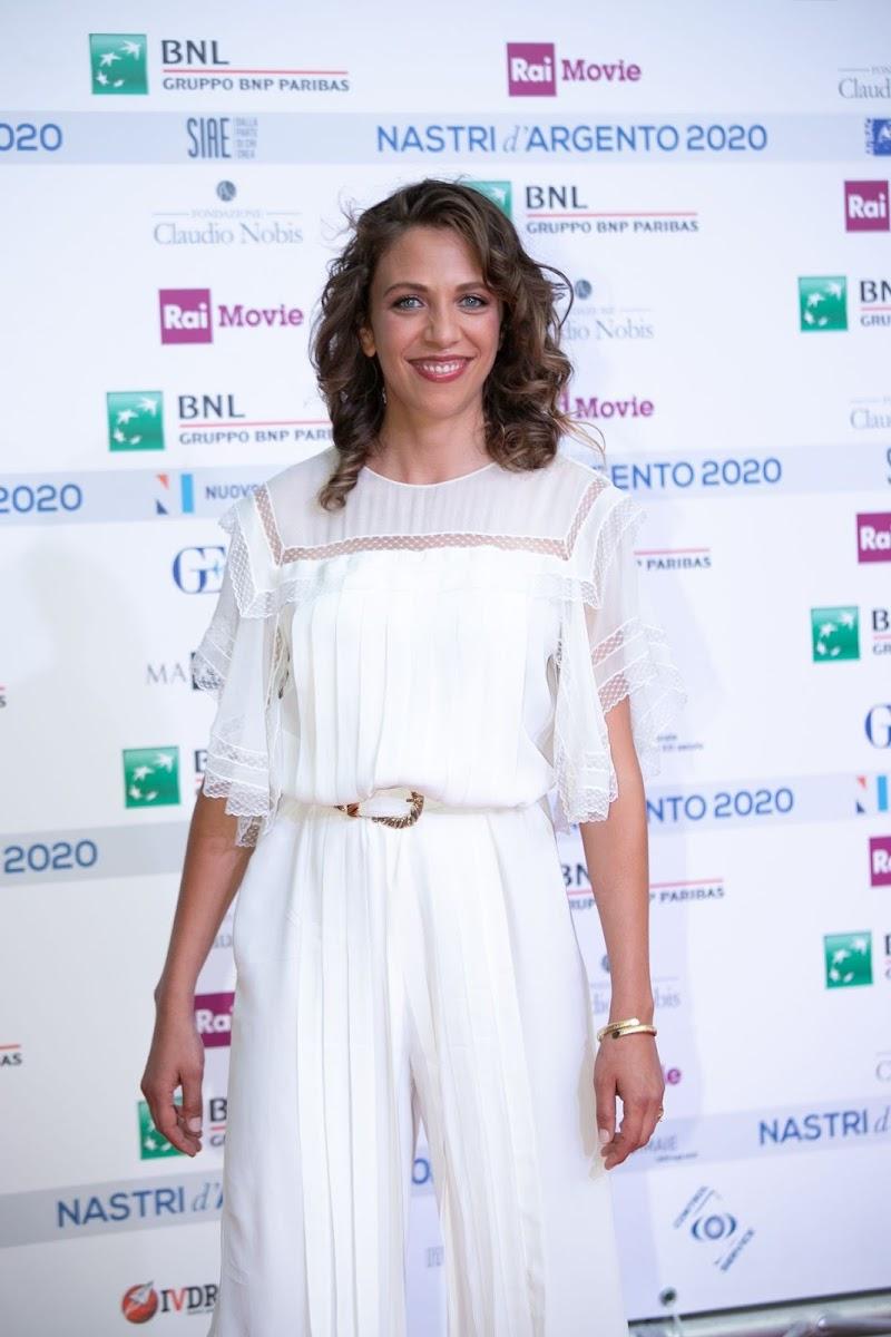 Barbara Chichiarelli Clicks at Nastri D'Argento Awards in Rome 6 Jul -2020