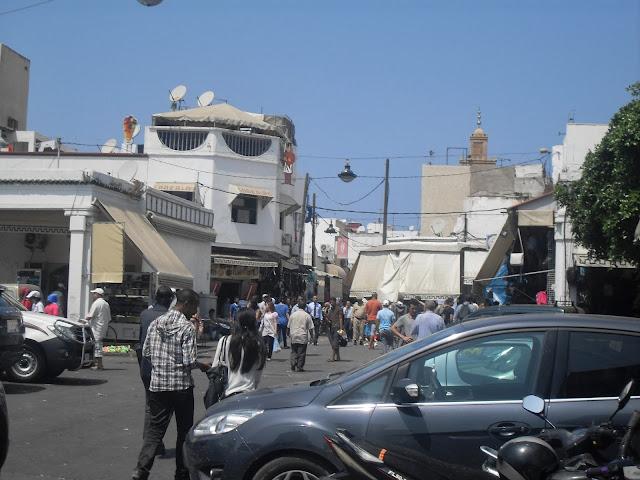 Alrededores de la medina de Rabat