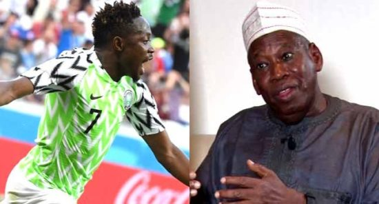 Governor Ganduje To Unveil Ahmed Musa As Latest Kano Pillars Signing