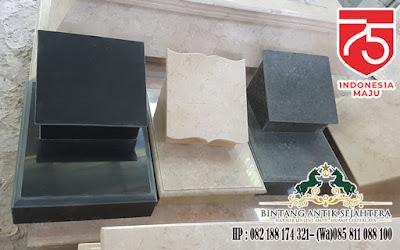 Makam Batu Nisan Tulungagung, Nisan Granit Marmer