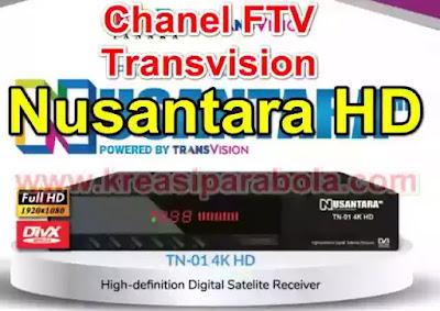 Daftar Chanel FTV Transvision Nusantara HD