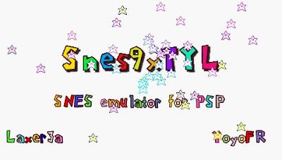 Emulador Snes para PSP