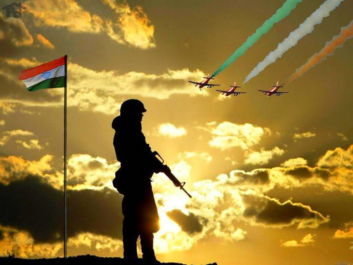 Indian Flag Theme: KRANTHI VANAPARTHI: SALUTE THE INDIAN FLAG,GALLANT SOLIDERS