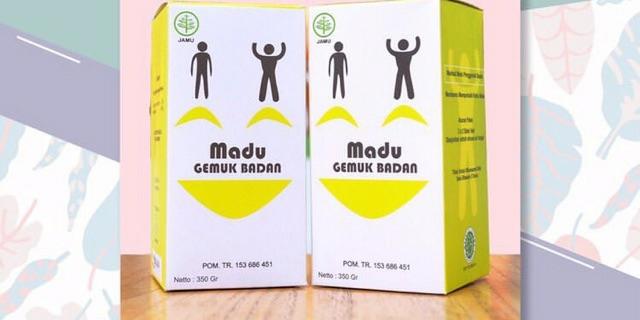 Konsumsi Madu Herbal Gemuk Badan