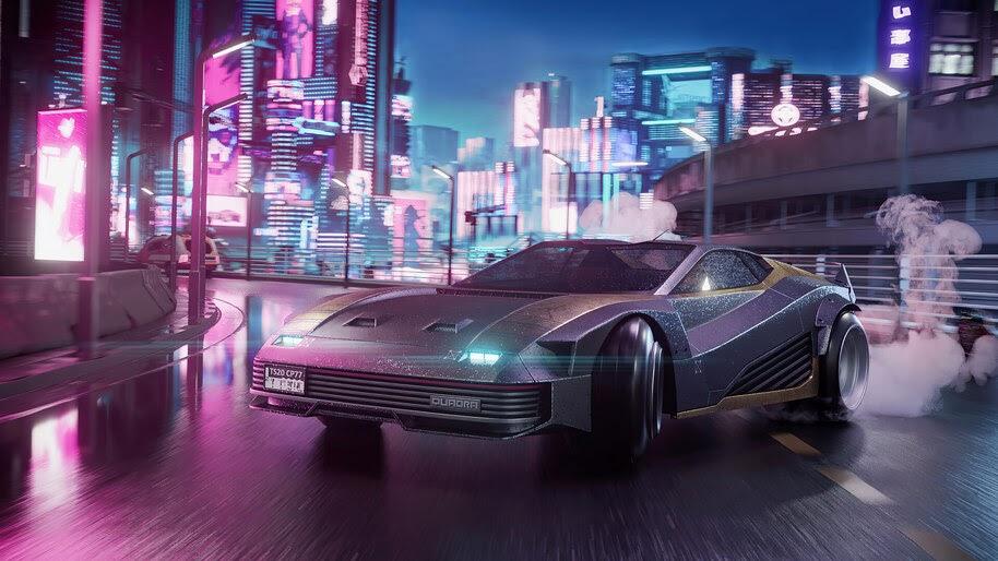 Cyberpunk 2077, Car, Quadra Turbo R, 4K, #7.2460