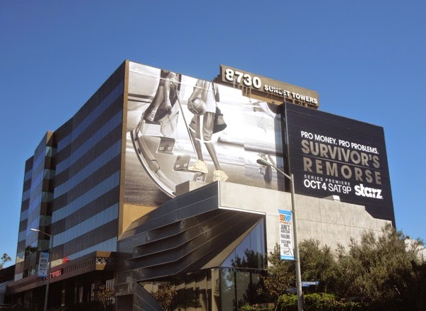 Giant Survivor's Remorse series premiere billboard