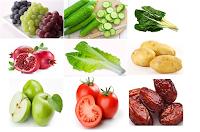 بحث حول فوائد الخضر و الفواكه وعلاقتها بالفيتامينات