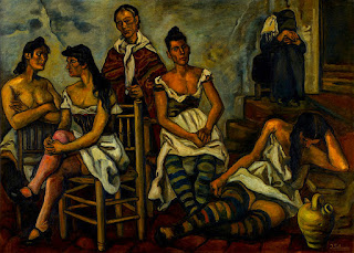 The slum brothel - Jose Gutierrez Golana (1934)