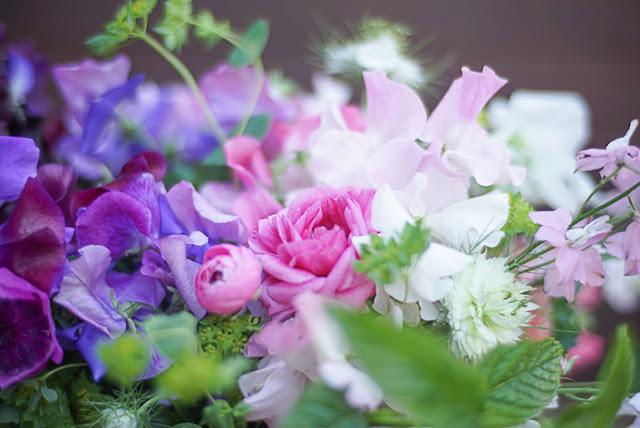 sweet peas. flores de floritismo