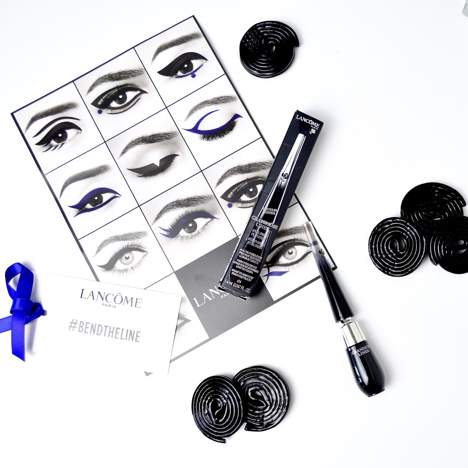 Lancome, Lancome Grandiose Liner, Bend The Line, Eyeliner Flick, Perfect Flick, Winged Liner, Liner, Eyeliner, Makeup,