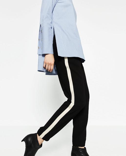 Pantalon à bandes 1