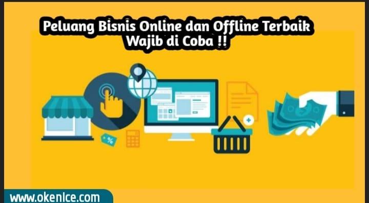 Peluang bisnis online ofline