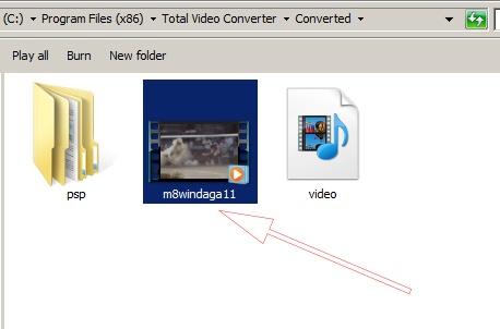 Cách sử dụng Total Video Converter 3.71 Full để đổi đuôi video  e