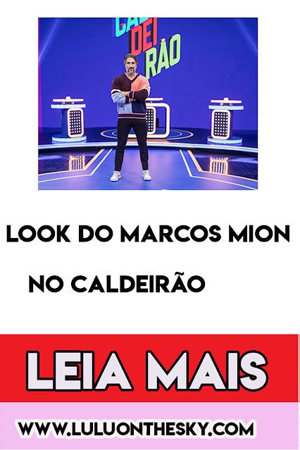 O look de 20 mil reais do Marcos Mion no Caldeirão