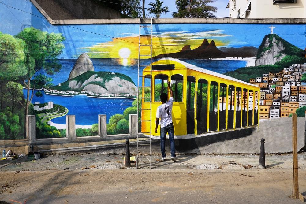 Районы Санта-Тереза и Лапа в Рио де Жанейро