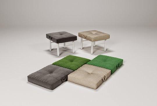 Small Space Convertible Furniture: Convertible Sofa By Julia Kononenko