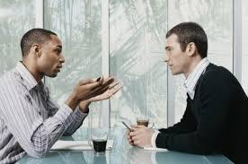 conversa no trabalho