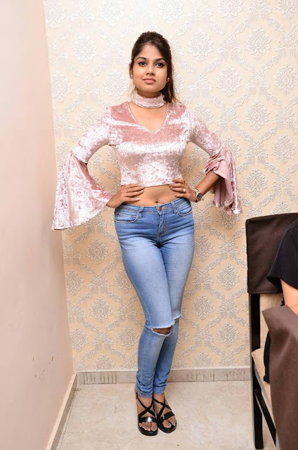 Aanya Kapse Stills At New Year Bash Curtain Raiser 2018
