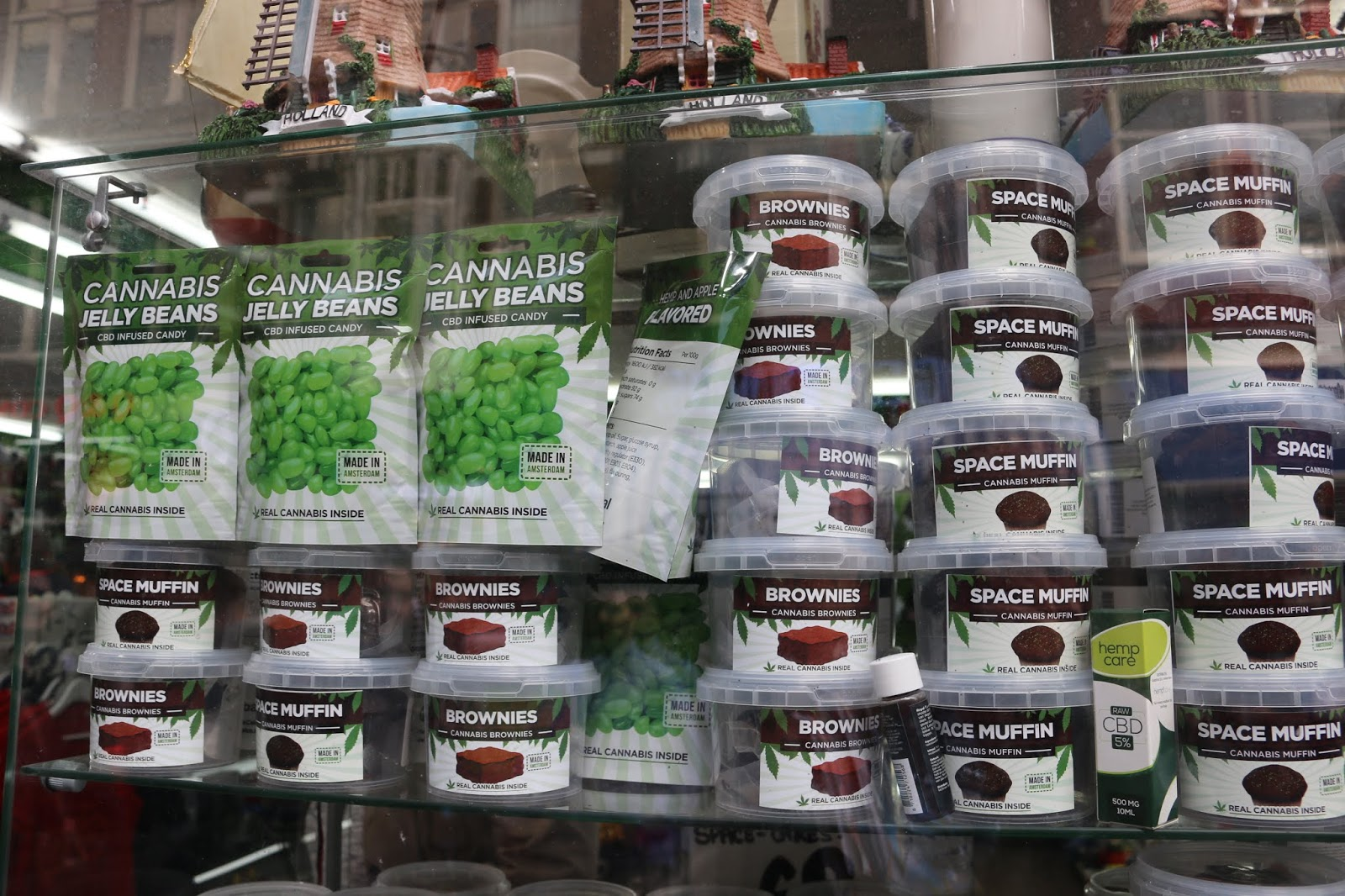 Cannabis Edibles Jelly Beans, Brownies, Muffins Amsterdam