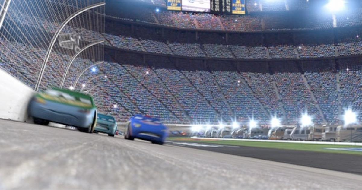 Dan The Pixar Fan Cars Johnny Blamer Faux Wheel Drive