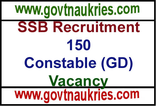 SSB Recruitment 2019