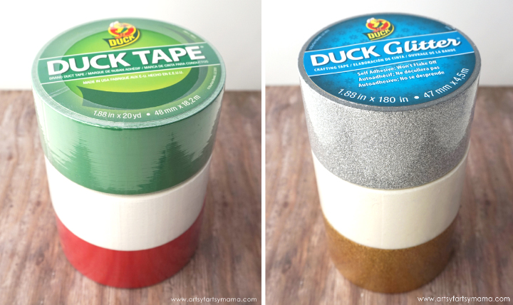 DIY Duck Tape Gift Tags