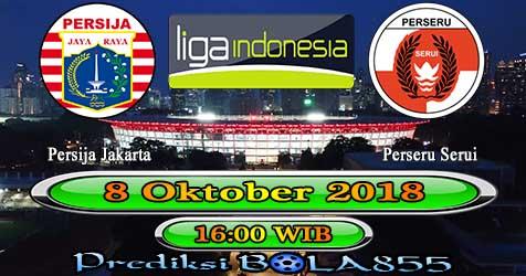 Prediksi Bola855 Persija Jakarta vs Perseru Serui 8 Oktober 2018