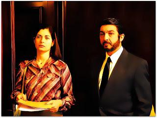 O Segredo dos Seus Olhos: Irene (Soledad Villamil) e Benjamin Esposito (Ricardo Darín)