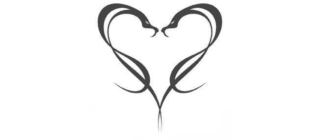 CR Tattoos Design: Small Heart Tattoo Designs