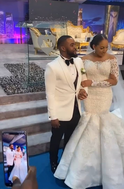 White Wedding Photos Of Actor Williams Uchemba, Live From Ceremony