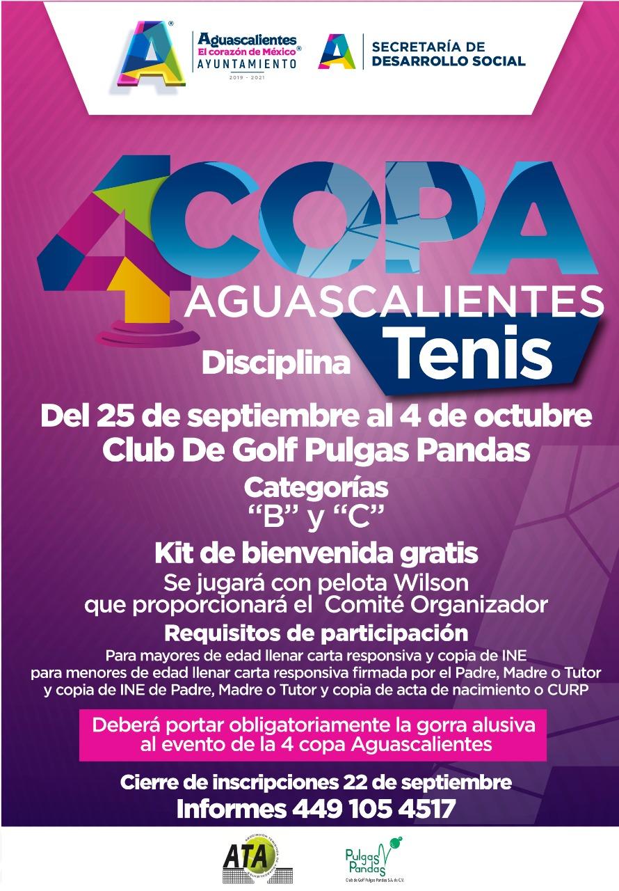 Este Fin De Semana Se Reanuda El Torneo De Tenis De La Copa Aguascalientes 2020 Agssports Com